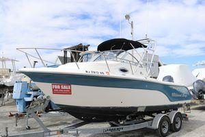 Used Sea Fox 216 Walk Around Center Console Fishing Boat For Sale