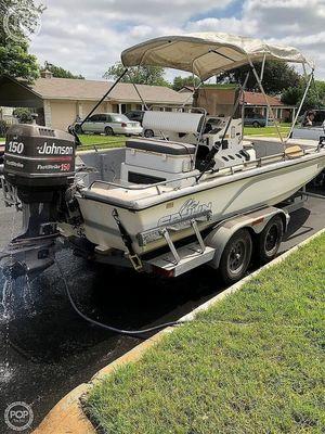 Used Cajun 2100 Fishmaster Center Console Fishing Boat For Sale
