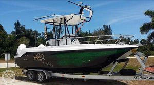 Used Aquasport 230 Tournament Cat Power Catamaran Boat For Sale