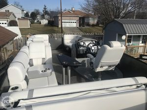 Used Godfrey Pontoon Aqua Patio 259 Elite Pontoon Boat For Sale