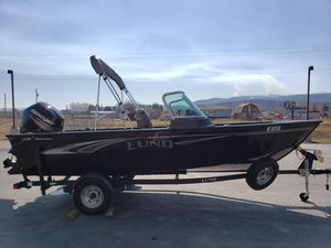 Used Lund 1775 Adventure Freshwater Fishing Boat For Sale