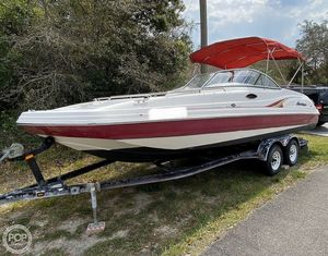 Used Hurricane SD237 Deck Boat For Sale
