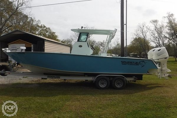 Used Custom Aluminum Gaudet 29 Center Console Fishing Boat For Sale