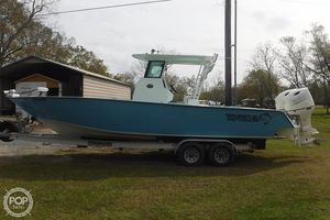 Used Custom Aluminum Gaudet 29 Center Console Fishing Boat For Sale