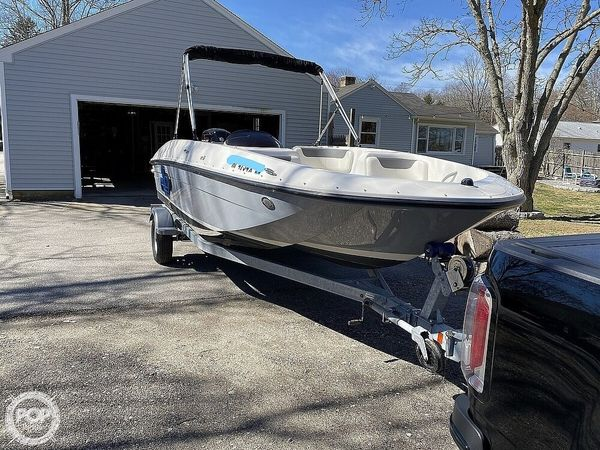 Used Bayliner Element E18 Deck Boat For Sale