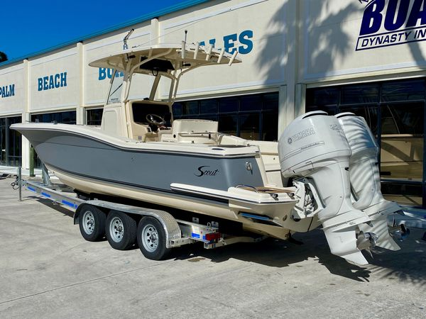 Used Scout 282 Sportfish Saltwater Fishing Boat For Sale