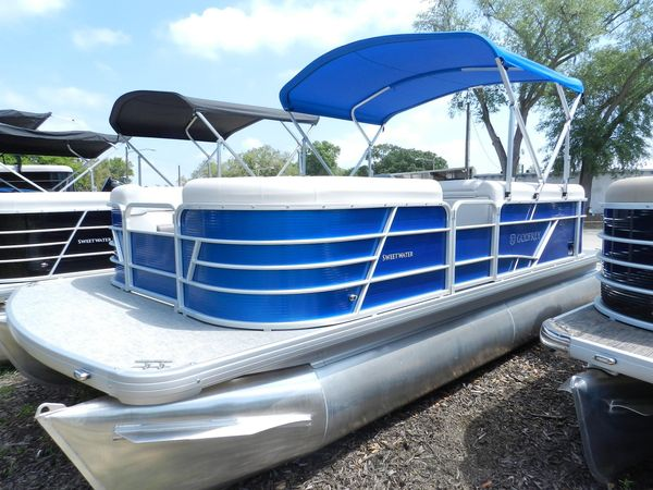 New Sweetwater 2086 CX Pontoon Boat For Sale