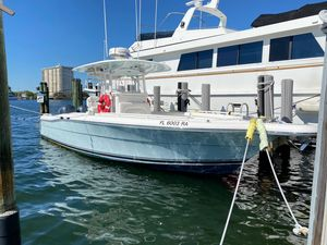 Used Stamas 317 Tarpon Sports Fishing Boat For Sale