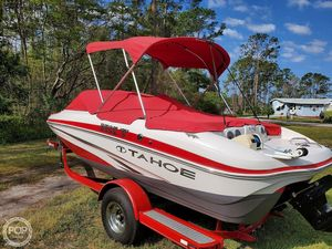 Used Tahoe Q5i Ski & Fish Bowrider Boat For Sale