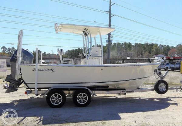 Used Kencraft Breakwater 20 Offshore Center Console Fishing Boat For Sale