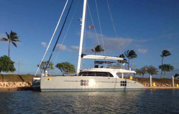 Used Sunreef Sailing 70 Catamaran Sailboat For Sale