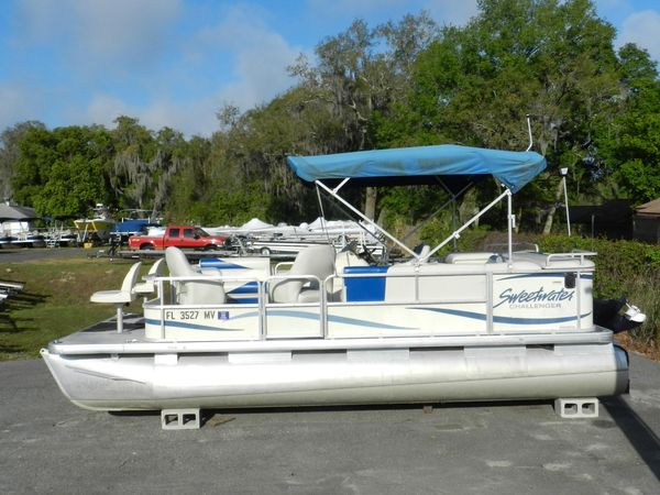 Used Sweetwater 200 Pontoon Boat For Sale