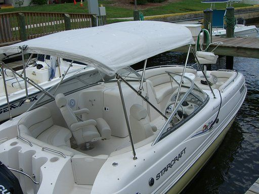 Used Starcraft Aurora 2210 OB Runabout Boat For Sale