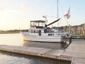 Used Monk 2 Stateroom Trawler Aft Cabin Boat For Sale