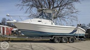 Used Cobia 260 WA Walkaround Fishing Boat For Sale