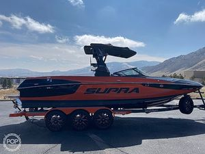 Used Supra SE 550 Ski and Wakeboard Boat For Sale