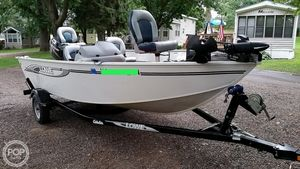 Used Lowe FM 165 Aluminum Fishing Boat For Sale