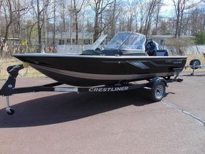 New Crestliner 1750 Fish Hawk Walk-through Freshwater Fishing Boat For Sale