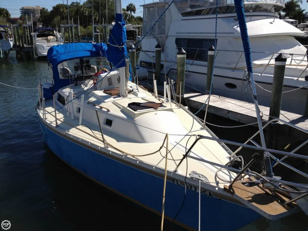 Used Irwin Yachts 33 Racer and Cruiser Sailboat For Sale