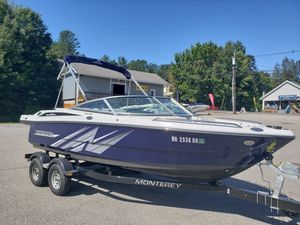 Used Monterey 196 MS Montura Sports Fishing Boat For Sale