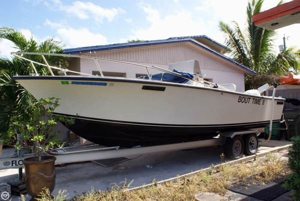 Used Seacraft 23 Master Angler Center Console Fishing Boat For Sale
