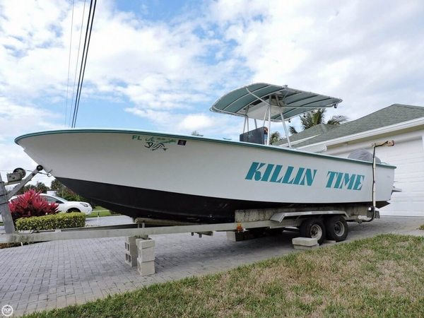 Used Seabird 23 Center Console Fishing Boat For Sale