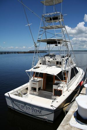Used Phoenix 38 SFX Convertible Saltwater Fishing Boat For Sale