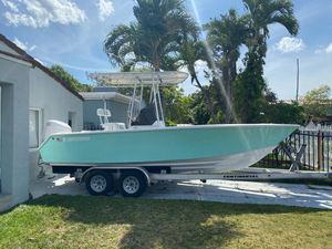 Used Contender 21 Open Saltwater Fishing Boat For Sale