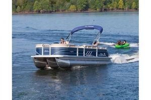New Sun Tracker Signature Party Barge 22RF XP3 w/150L 4S Pontoon Boat For Sale
