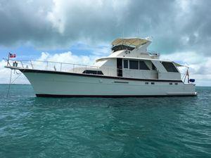 Used Hatteras Yacht Fisherman Flybridge Boat For Sale