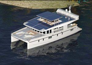 New Serenity 74 Solar Catamaran Power Catamaran Boat For Sale