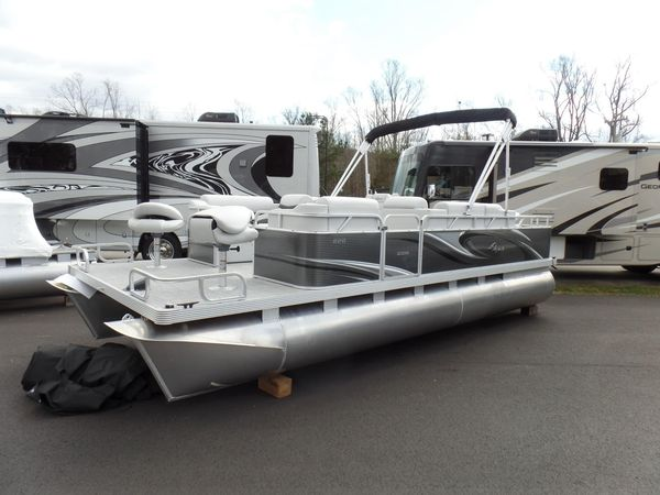 New Qwest Edge 820 VX Sport Cruise Pontoon Boat For Sale