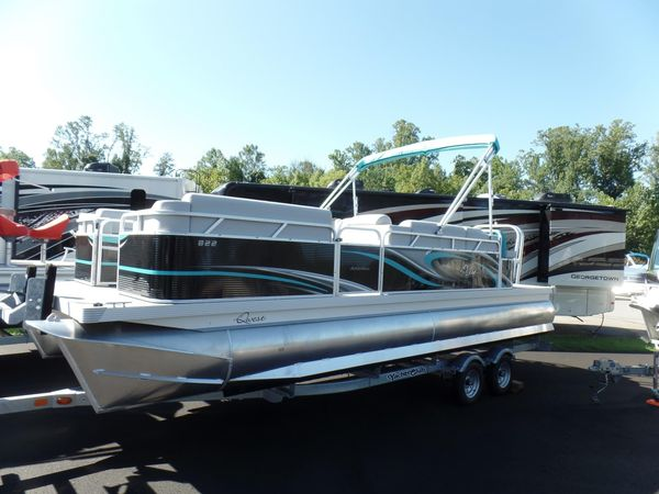 New Qwest Adventure 820 Lanai Cruise Pontoon Boat For Sale