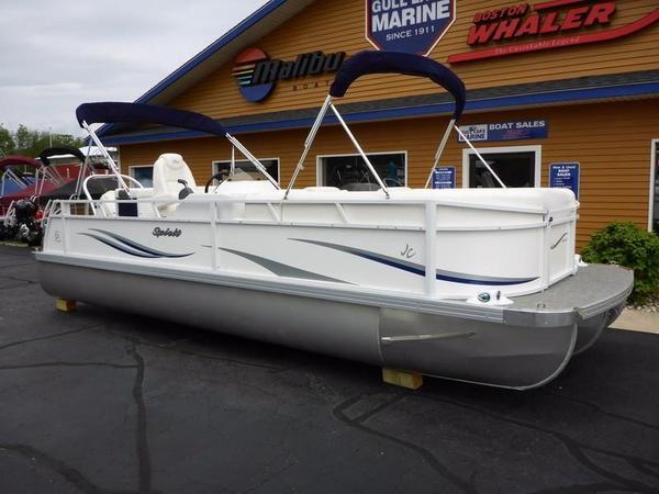 New Jc Tritoon Spirit 242TT Sport Pontoon Boat For Sale