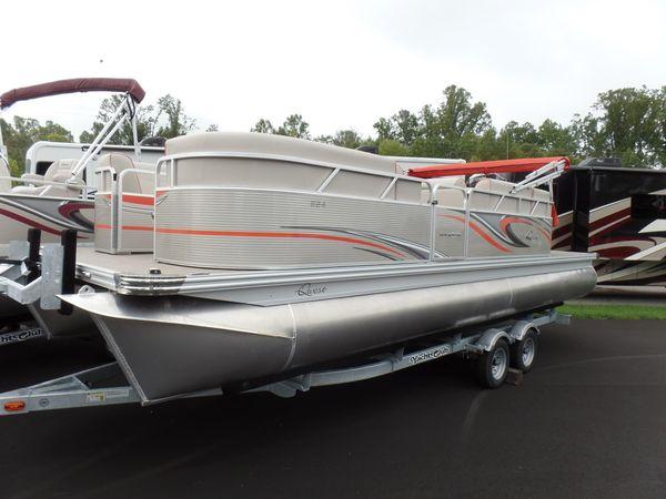 New Qwest LS 822 Splash Bar Pontoon Boat For Sale