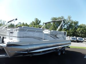 New Qwest Adventure 820/822 lanai Cruise Pontoon Boat For Sale