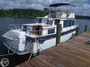 Used Marine Trader 40 Double Cabin Trawler Boat For Sale