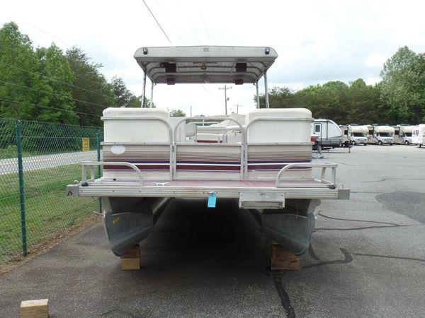 Used Monark Sun Spa 240 Pontoon Boat For Sale