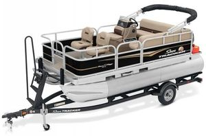 New Sun Tracker Signature Bass Buggy 16XLS w/50ELPT 4S Pontoon Boat For Sale