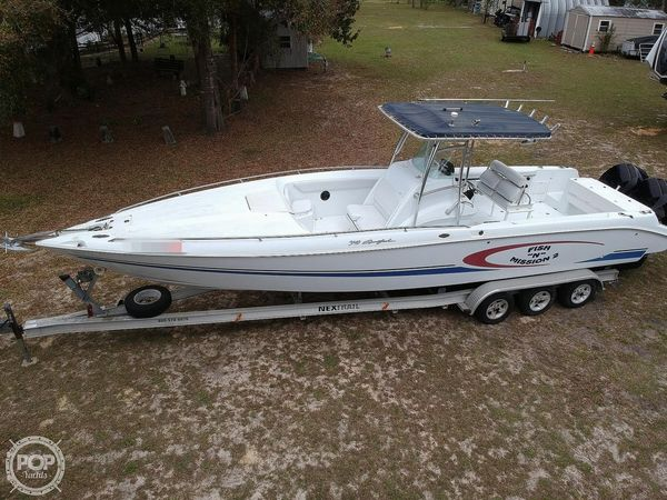 Used Baja 340 Sportfish Center Console Fishing Boat For Sale