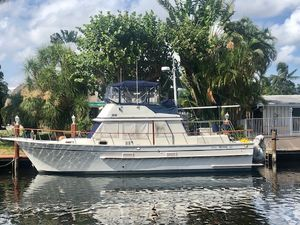 """Used Monk """"42"""" Classic Trawler Boat For Sale"""