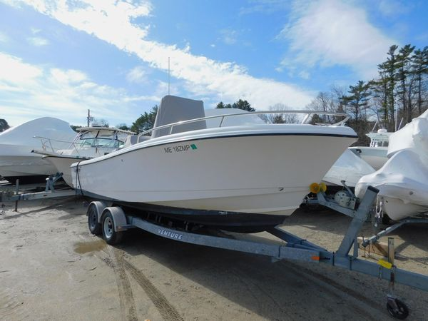 Used Edgewater 220cc Center Console Fishing Boat For Sale