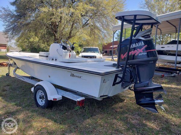 Used Maverick Master Angler 18 Flats Fishing Boat For Sale