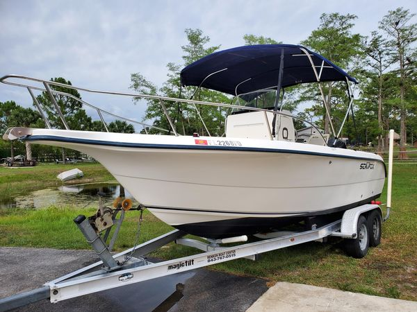 Used Sea Fox 210 Center Console Saltwater Fishing Boat For Sale