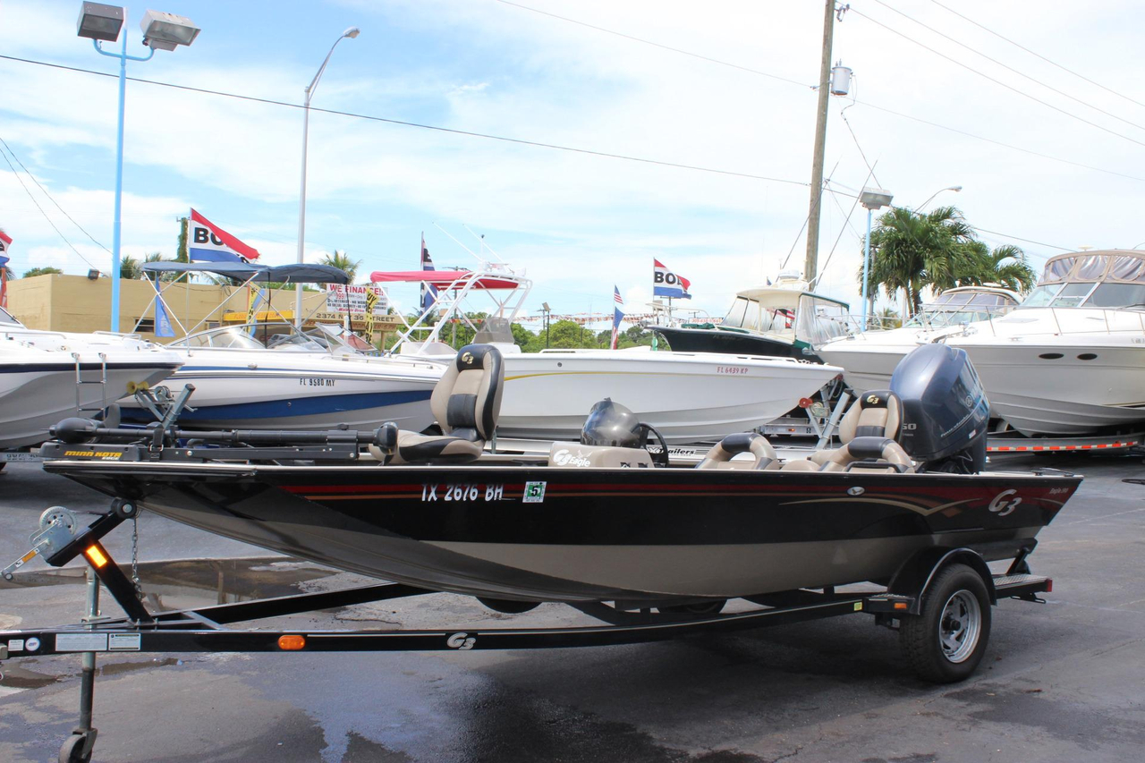 2010 used g3 eagle 190 bass boat for sale 15 500 for G3 fishing boats