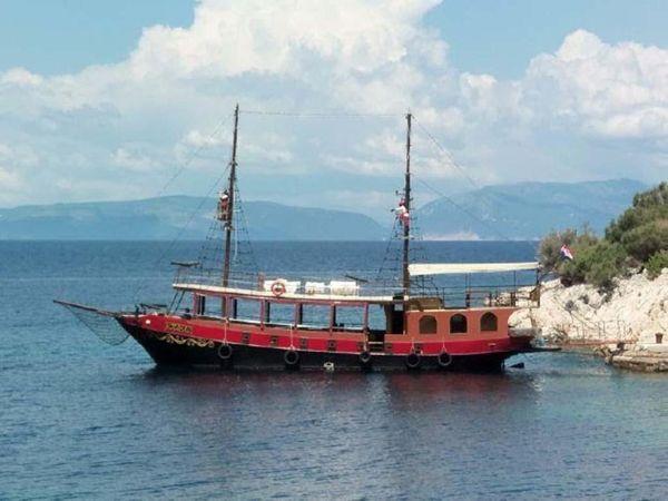 Used Custom DeVries Lentsch Ketch Passenger Boat For Sale
