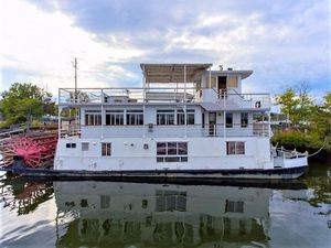 Used Ac Mcleod Custom Sternwheeler House Barge House Boat For Sale