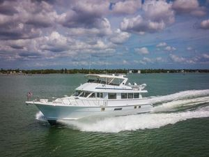 Used Hatteras 74 Cockpit Motor Yacht Motor Yacht For Sale