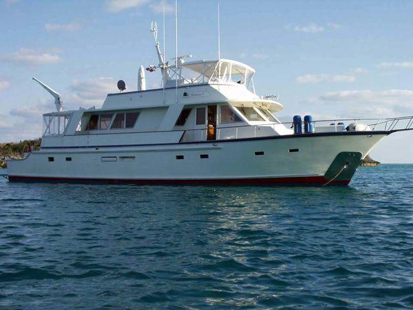 Used Kong & Halvorsen 70 Cockpit Motoryacht Motor Yacht For Sale