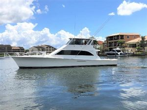 Used Ocean Yachts 66 SS Enclosed Bridge Convertible Fishing Boat For Sale